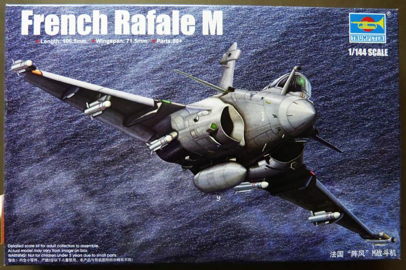 [TRUMPETER] DASSAULT RAFALE M 1/144ème Réf 03914 Rafale10