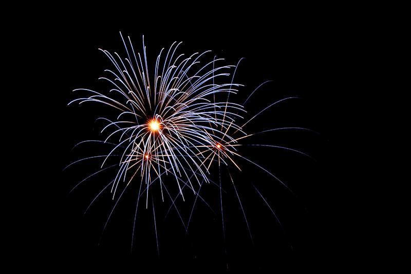 Sortie pour le feu d'artifice le 14 juillet à l'Etang d'Ursine 610