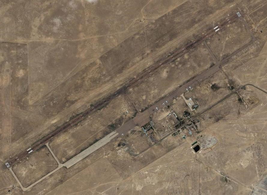 Réfection de la piste de l'aérodrome de Baïkonour Module13