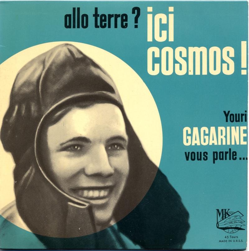Youri Gagarine : cherche documents, oeuvres d'art, objets, etc. à son image Allo10