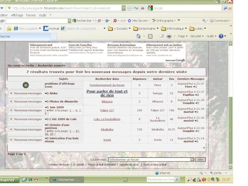 problème d'affichage icone Foruma10