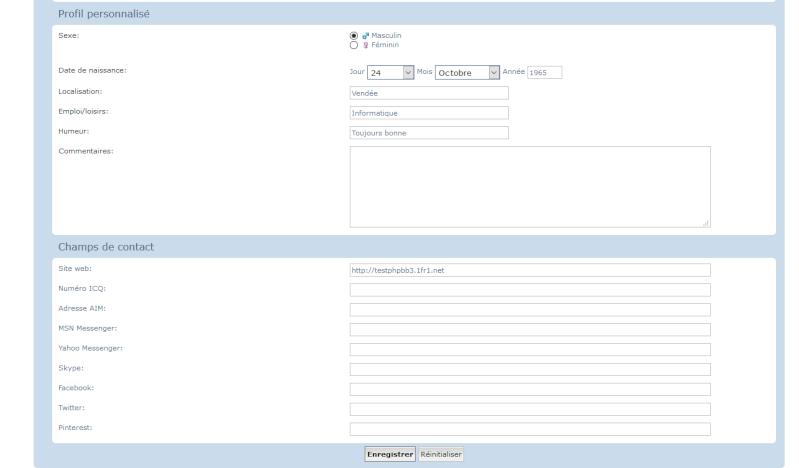 [PHPBB3] Supprimer les champs de contacts dans le profil 141