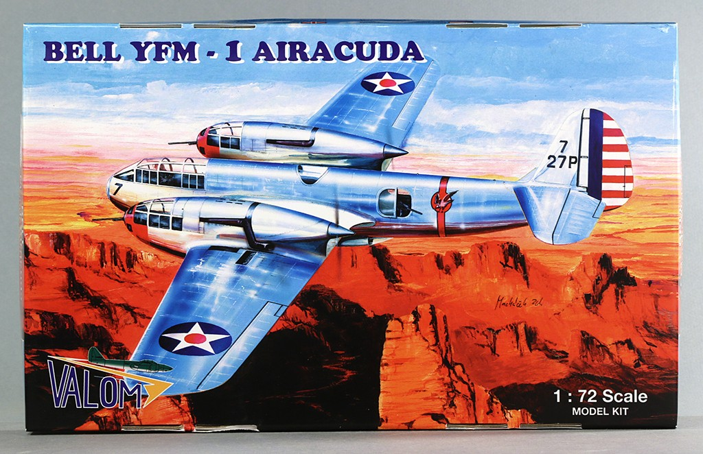 "Bell YFM-1 ""Airacuda"" (1:72, Valom #72015) Img_5510"