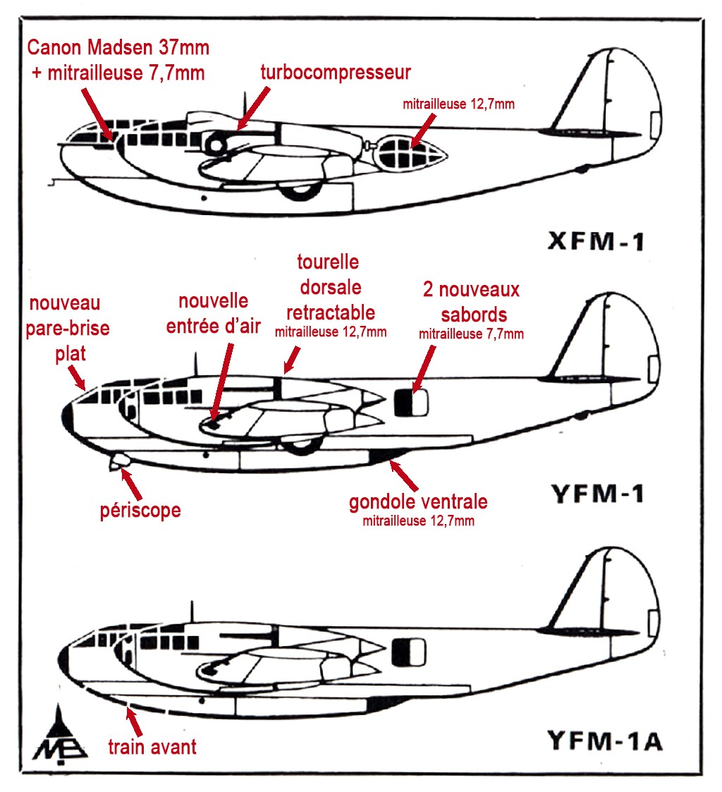 "Bell YFM-1 ""Airacuda"" (1:72, Valom #72015) Versio10"