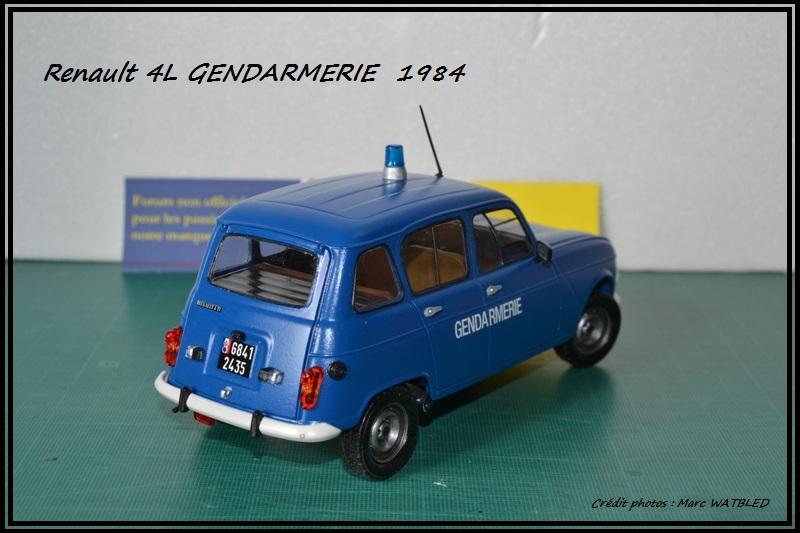 Renault 4L - 1984 - Gendarmerie   [Heller 1/24] Dsc_0064