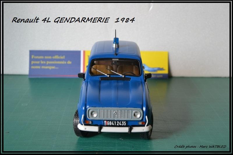 Renault 4L - 1984 - Gendarmerie   [Heller 1/24] Dsc_0065
