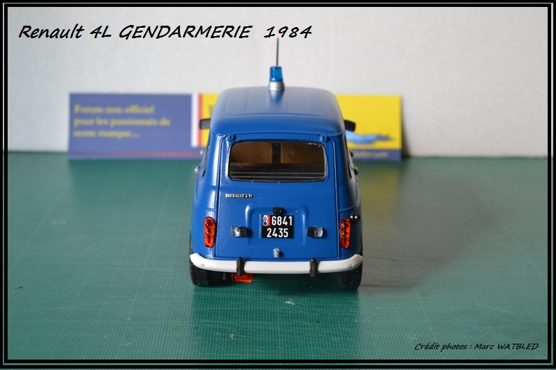 Renault 4L - 1984 - Gendarmerie   [Heller 1/24] Dsc_0066