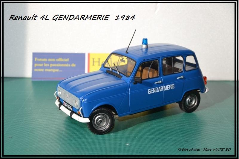 Renault 4L - 1984 - Gendarmerie   [Heller 1/24] Dsc_0067