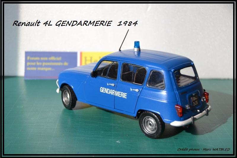 Renault 4L - 1984 - Gendarmerie   [Heller 1/24] Dsc_0068