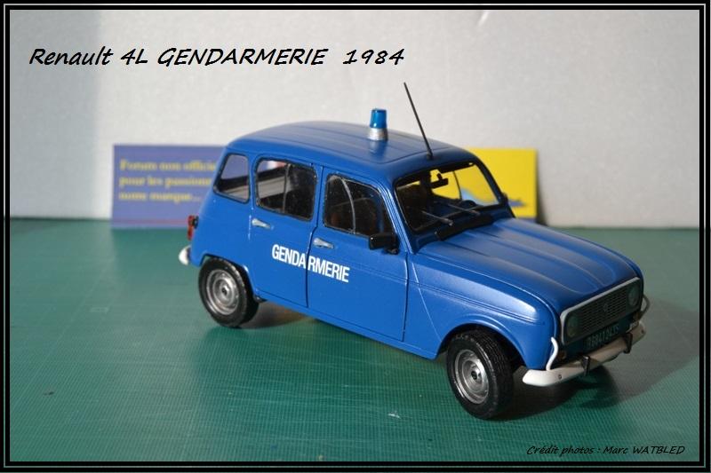 Renault 4L - 1984 - Gendarmerie   [Heller 1/24] Dsc_0069