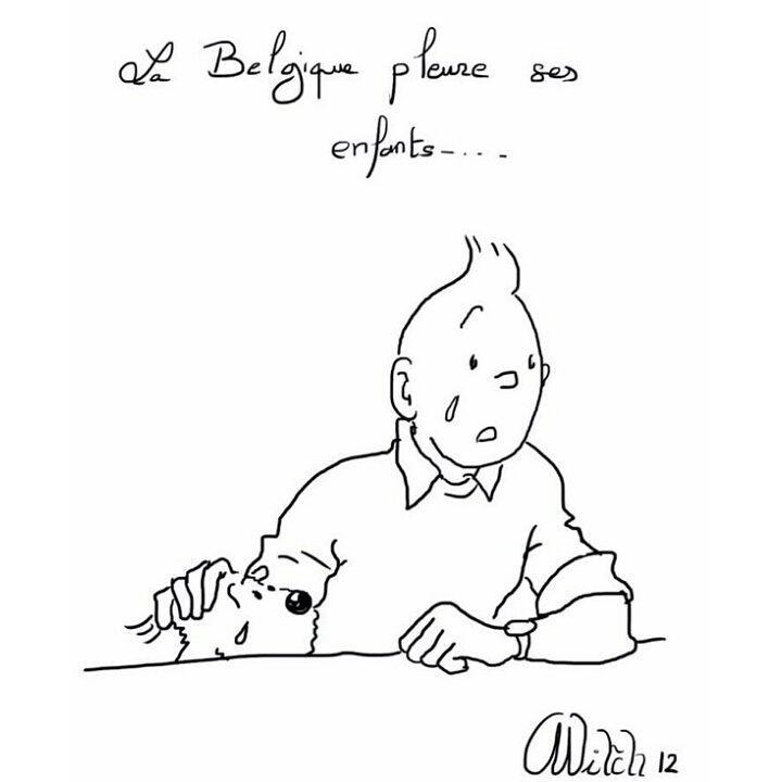 pensée à nos amis belges 12512310