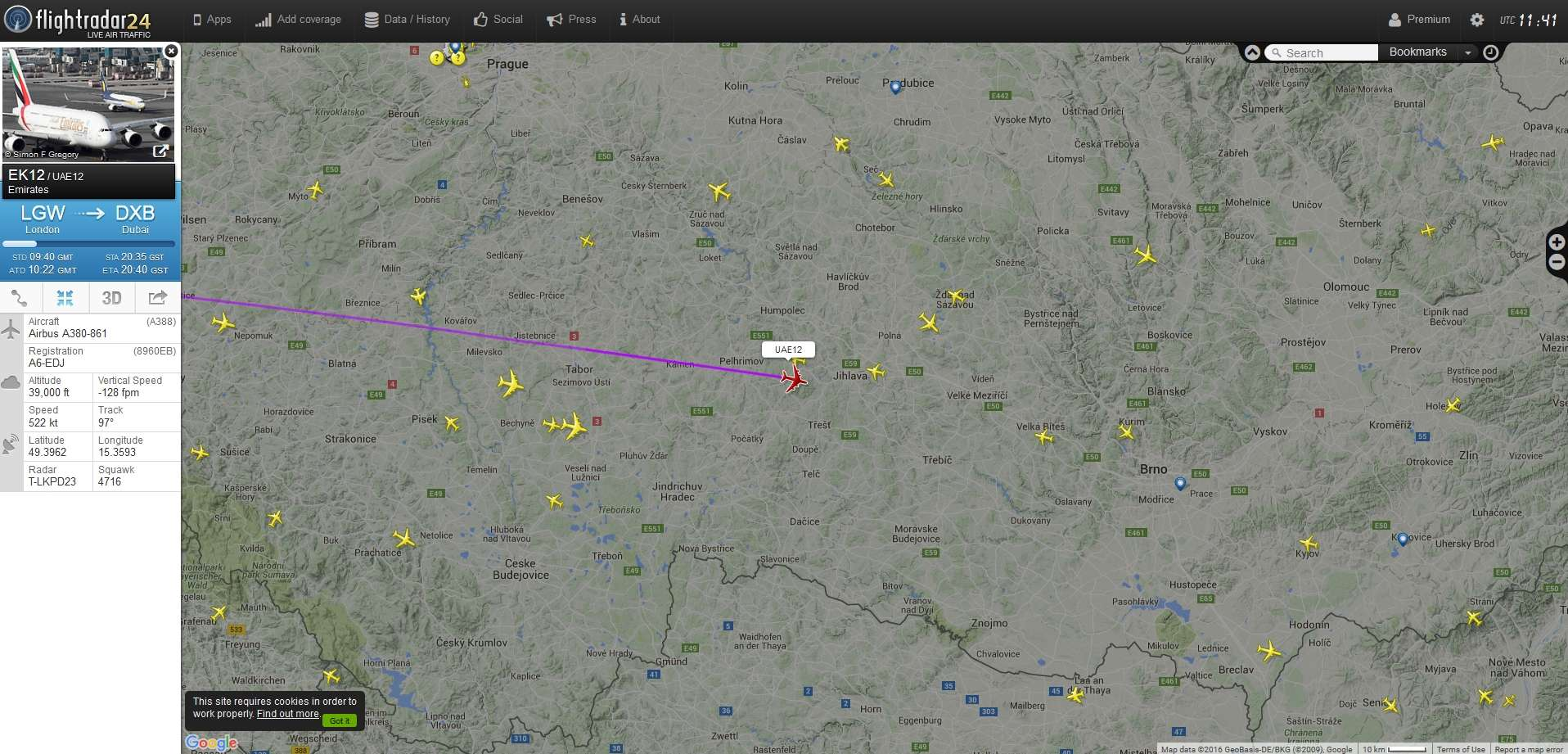 radarvirtuel.com/Flightradar24.com : tous les avions en vol en direct sur une carte - Page 2 Sans_t61