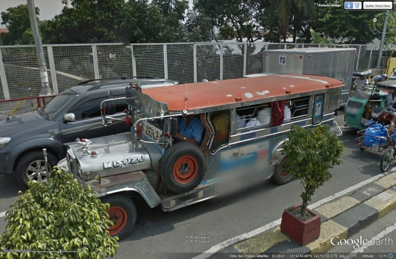 STREET VIEW : à la découverte des Jeepneys - Philippines Sans_t79