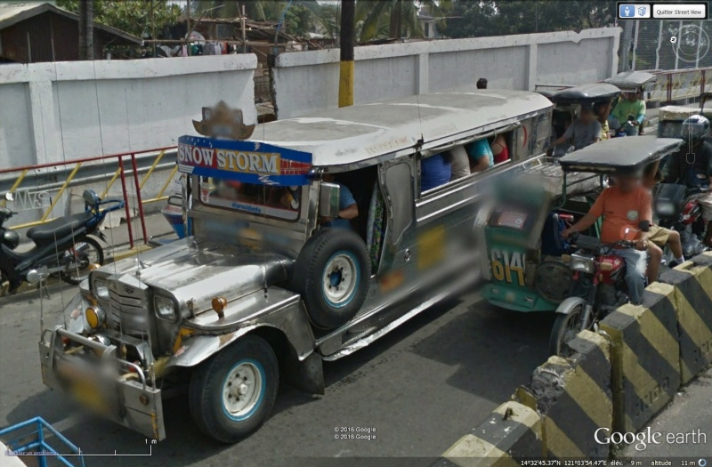 STREET VIEW : à la découverte des Jeepneys - Philippines Sans_t82
