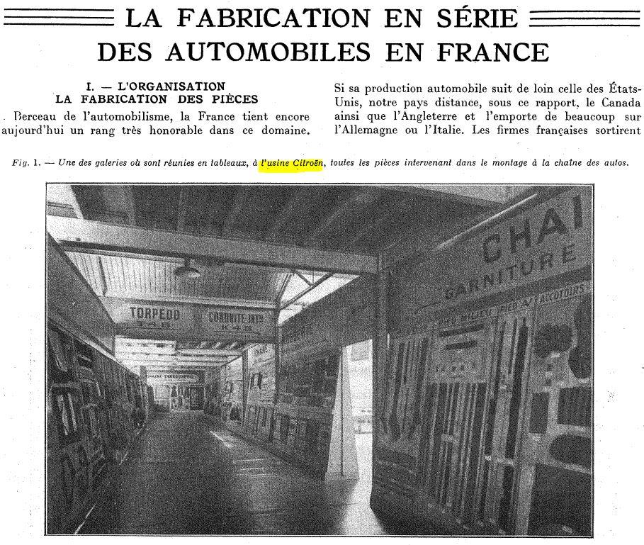 Les usines CITROËN 0000035