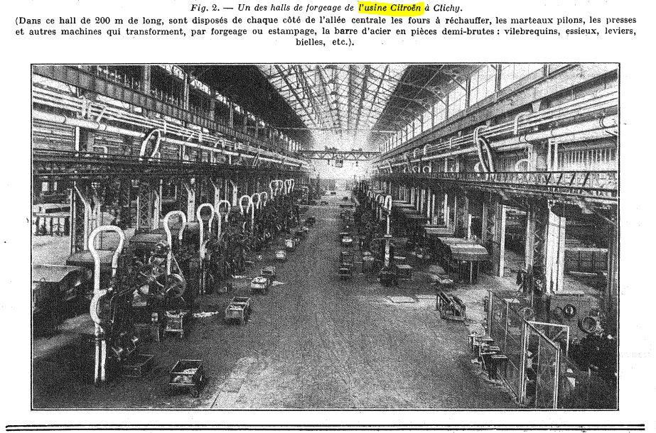 Les usines CITROËN 00046