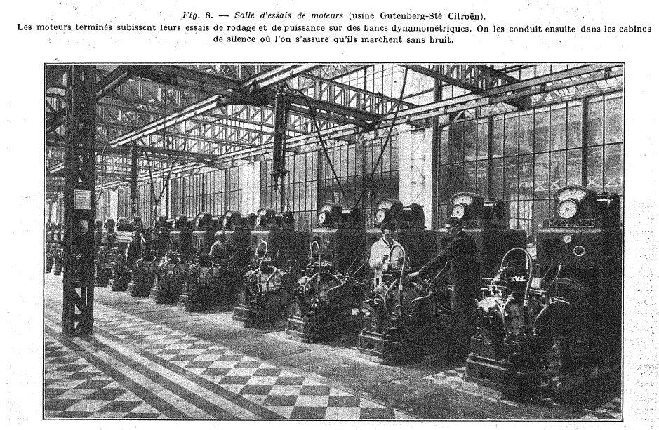 Les usines CITROËN 1015