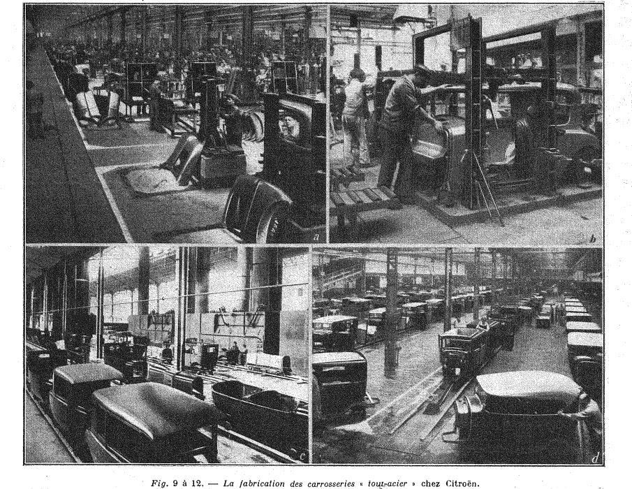 Les usines CITROËN 1113