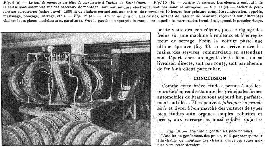 Les usines CITROËN 1215