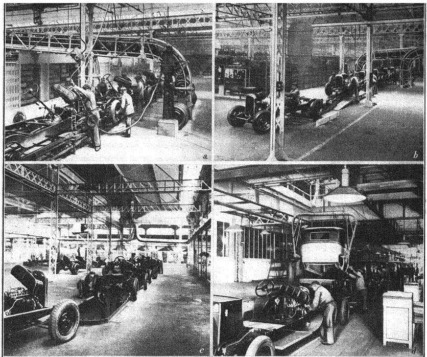 Les usines CITROËN 1312