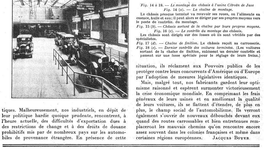 Les usines CITROËN 1412