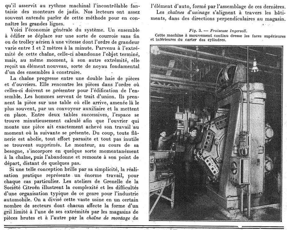 Les usines CITROËN 322