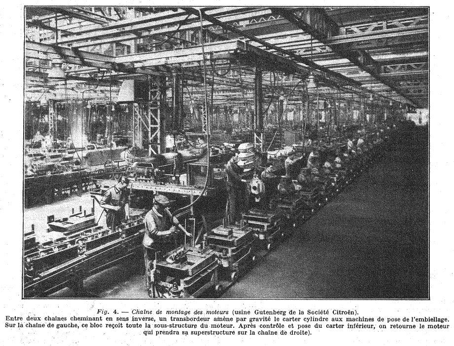 Les usines CITROËN 522
