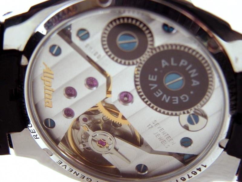 Alpina - montre alpina regulator 12