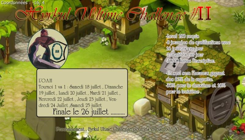 Hyrkul Ultime Challenge #2 Huc10