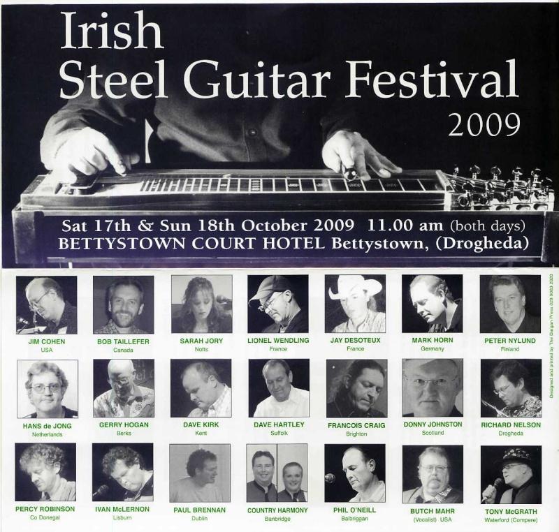 IRISH STEEL GUITAR FESTIVAL - BETTYSTOWN...17-19 OCT 2009 Irland12