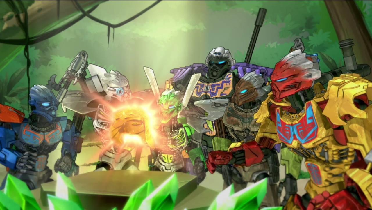 [Culture] Des vidéos de présentation pour les personnages et trailer de la série Bionicle de Netflix 12419110