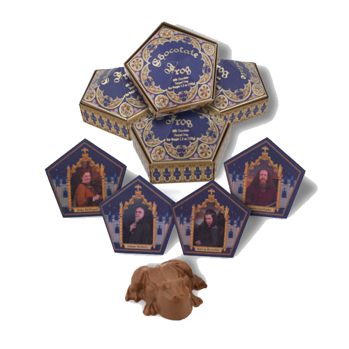 GAME: 10th Anniversary Pick the Chocolate Frog Frogs10