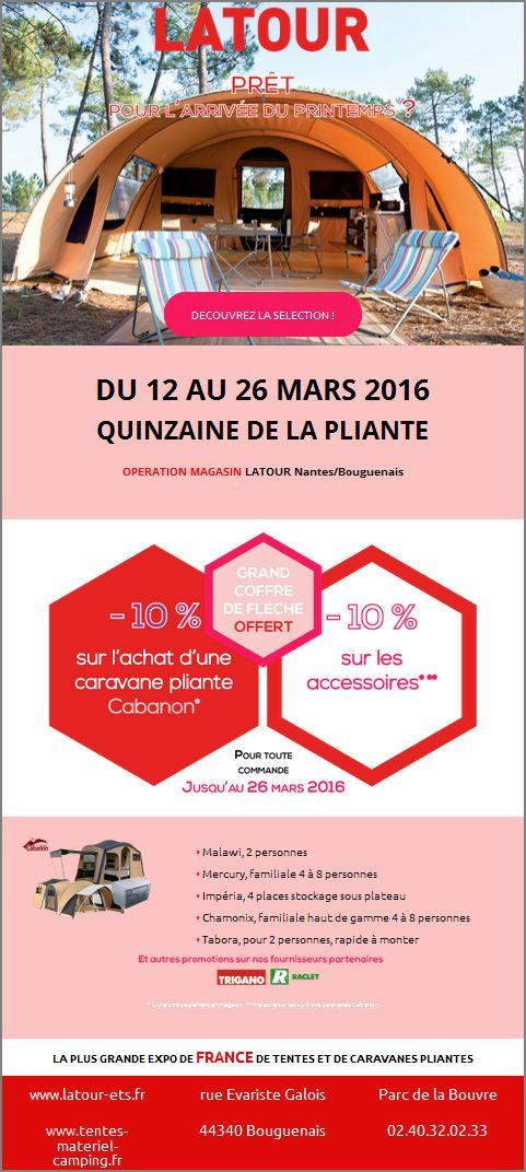 DU 12 AU 26 MARS 2016 QUINZAINE DE LA PLIANTE Chez latour Captur11