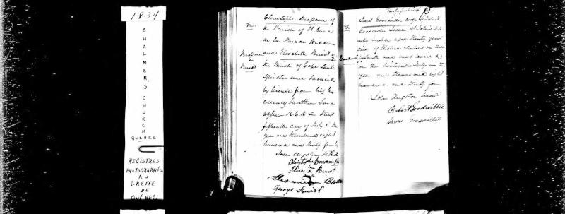 La famille Georges Buist, Margaret Donaldson  Christ10