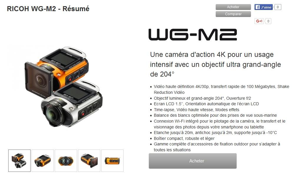 Le fil du WG-M2 Wgm210