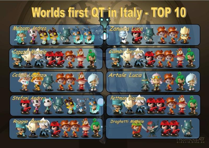 Premier QT en Italie - TOP 10 12823410