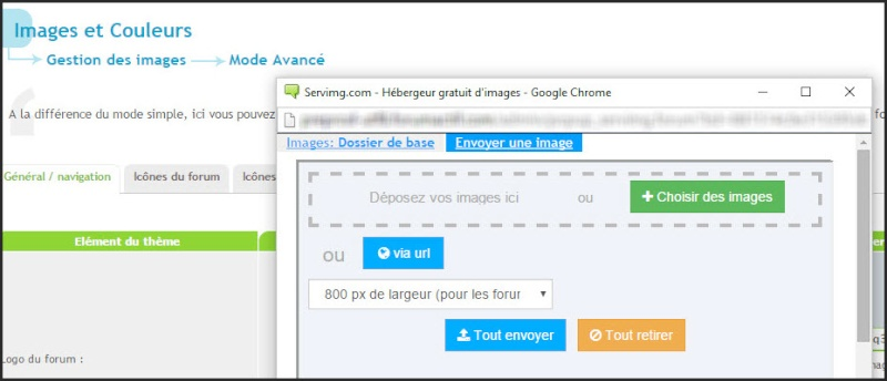 Tutoriel Insertion directe des images dans un post sur le forum 07-03-11