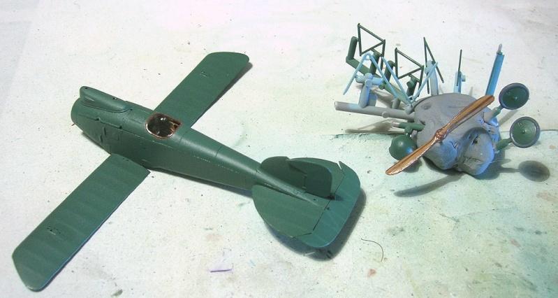 Montage: Albatros D-III Oeffag début de série 153 / Roden 1/72 Montag23