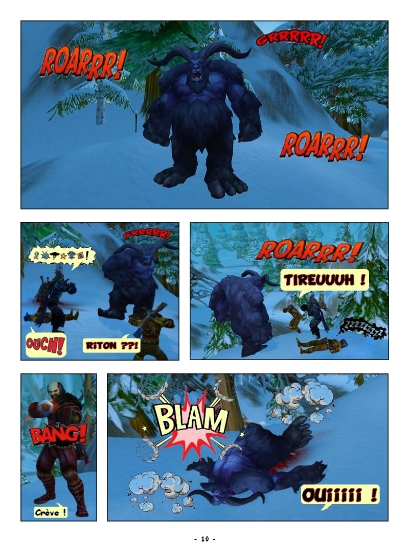 'Traque au sommet' Des Editions Les Schyzos Page1010