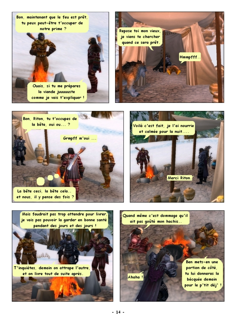 'Traque au sommet' Des Editions Les Schyzos Page_114