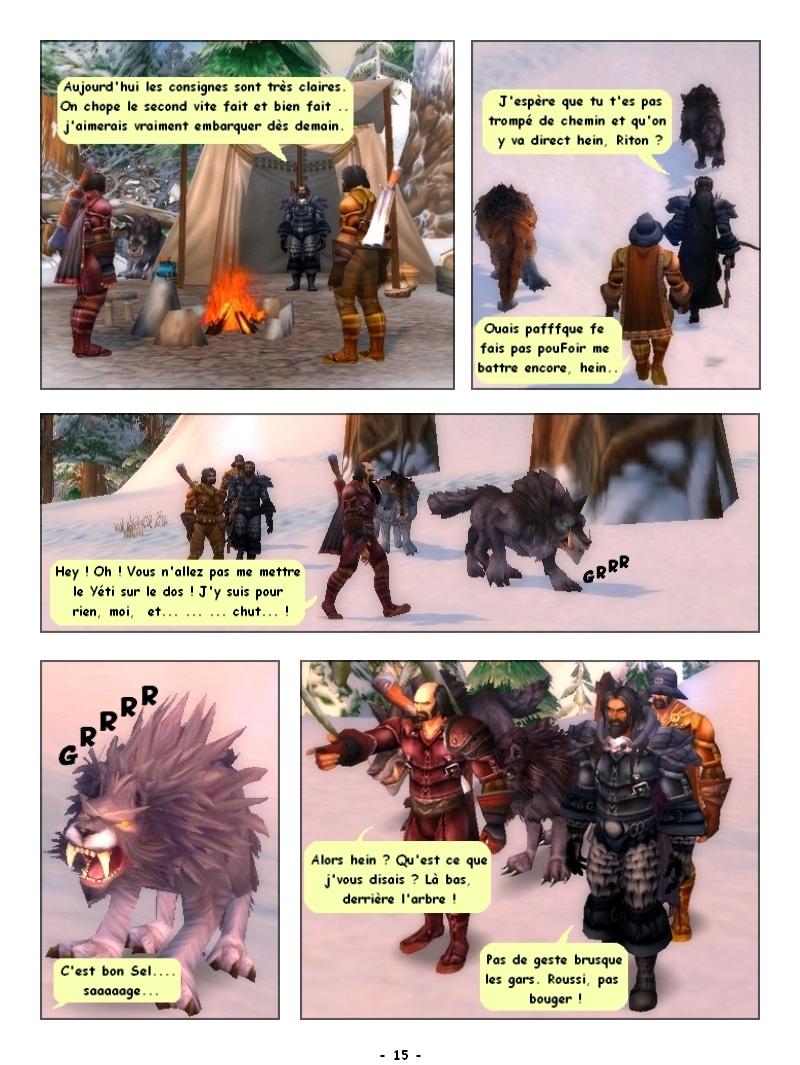 'Traque au sommet' Des Editions Les Schyzos Page_115