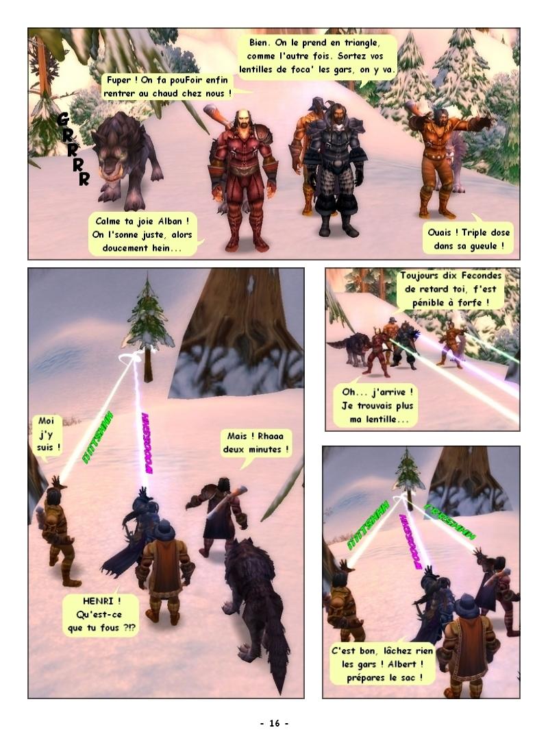 'Traque au sommet' Des Editions Les Schyzos Page_116
