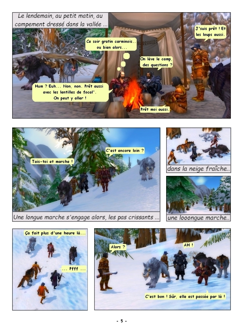 'Traque au sommet' Des Editions Les Schyzos Page_510
