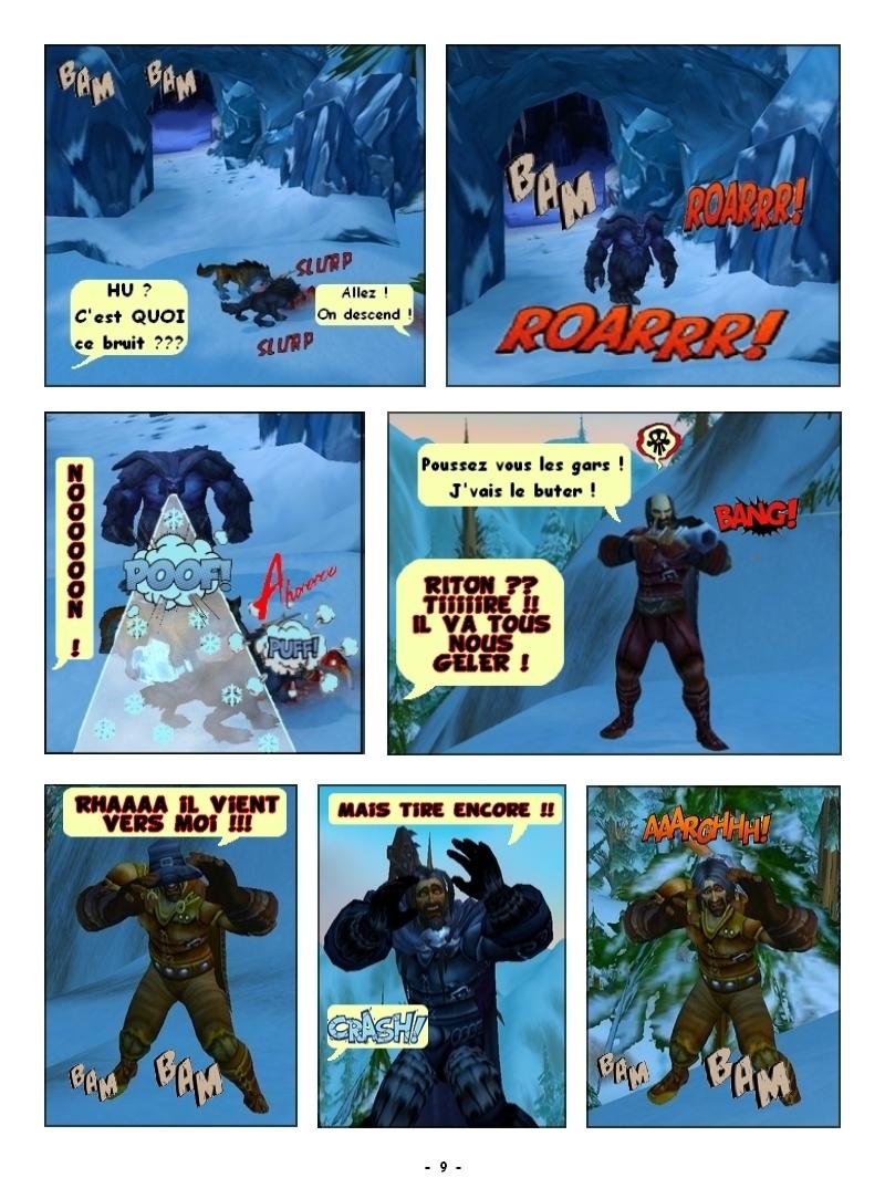 'Traque au sommet' Des Editions Les Schyzos Page_910