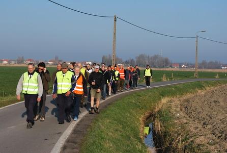 Marche du 1 Avril les 4hrs de Vlissegem Dsc_0025