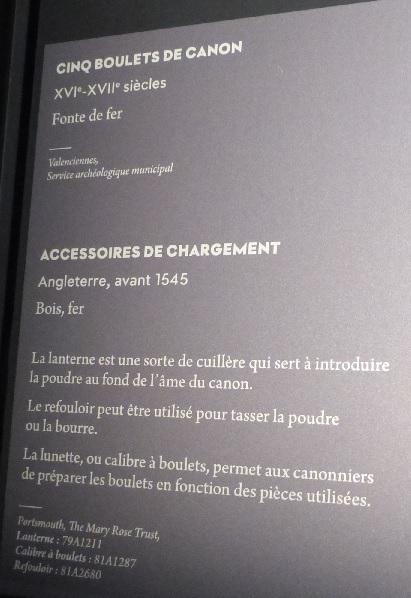 [artefact] accesoires d'artillerie : refouloir gabarit cuillère 16ème Cartel10