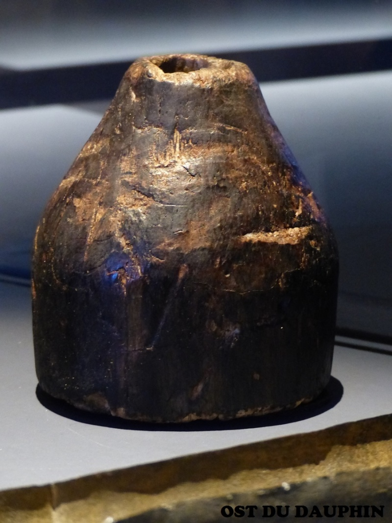 [artefact] accesoires d'artillerie : refouloir gabarit cuillère 16ème Refoul10