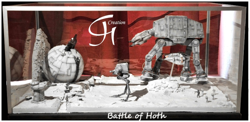"Diorama ""Battle of Hoth"" Dioram10"