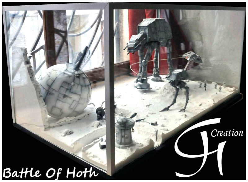 "Diorama ""Battle of Hoth"" Dioram11"