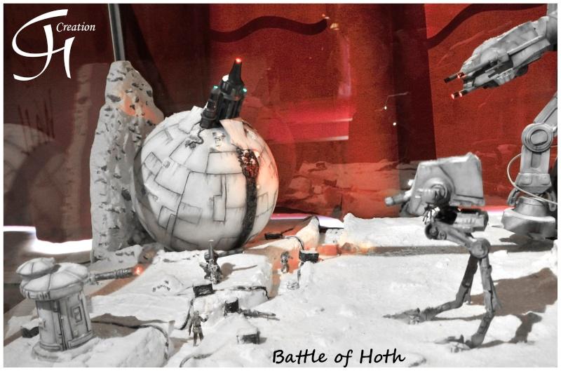 """Diorama """"Battle of Hoth"""" Dioram12"""